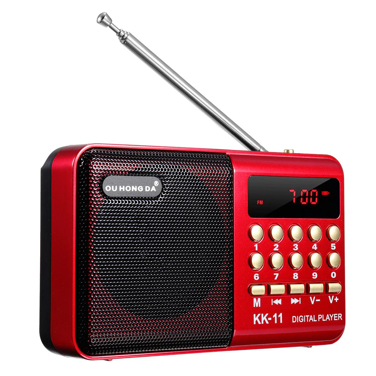 Mini Radio portátil FM Digital USB TF reproductor de MP3 (desde España)