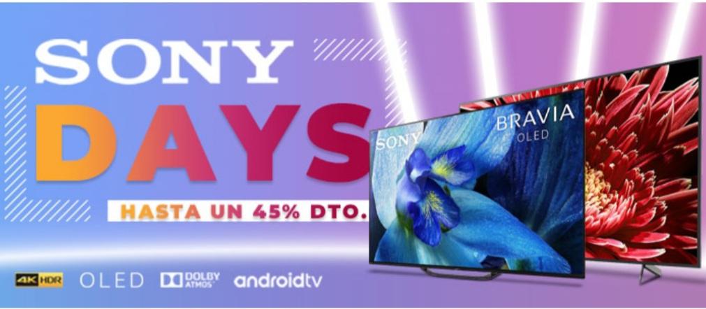 Sony Days MiElectro, hasta 45% dto.