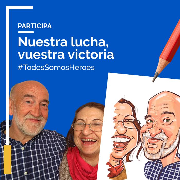 Caricatura gratis de nuestros mayores