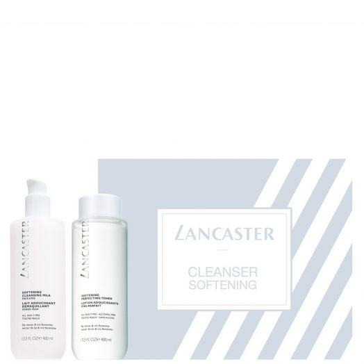 Estuche de regalo Cleanser Softening Set Limpiadora y tónico Lancaster.