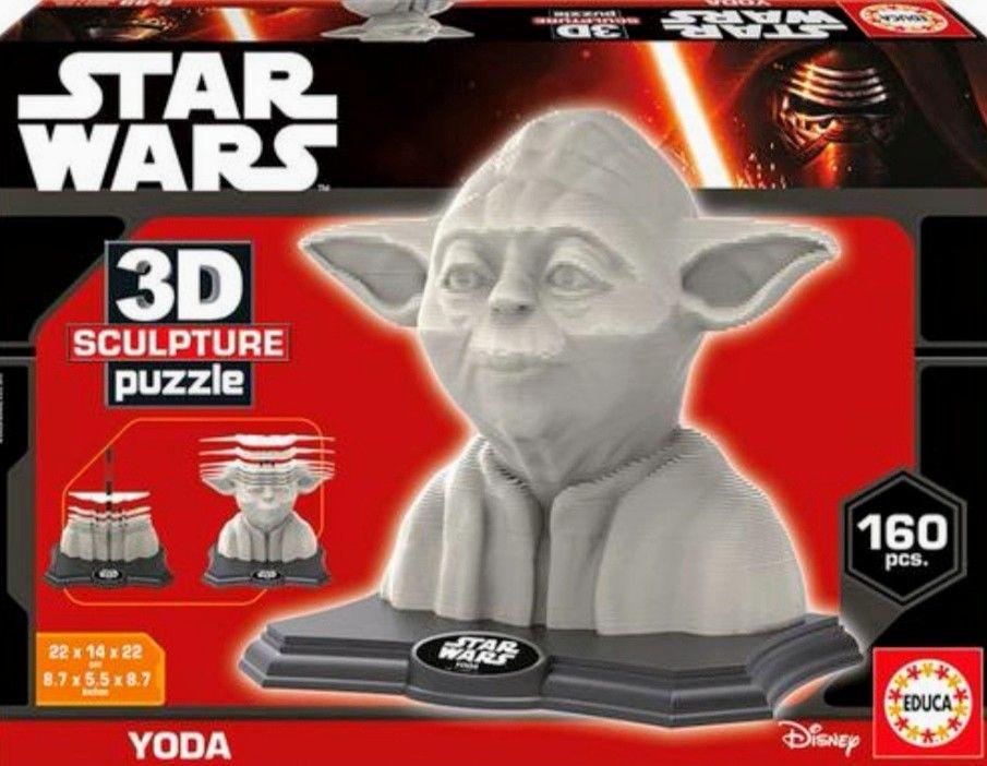 Star Wars - Puzzle 3D Yoda (Recogida gratis en tienda)