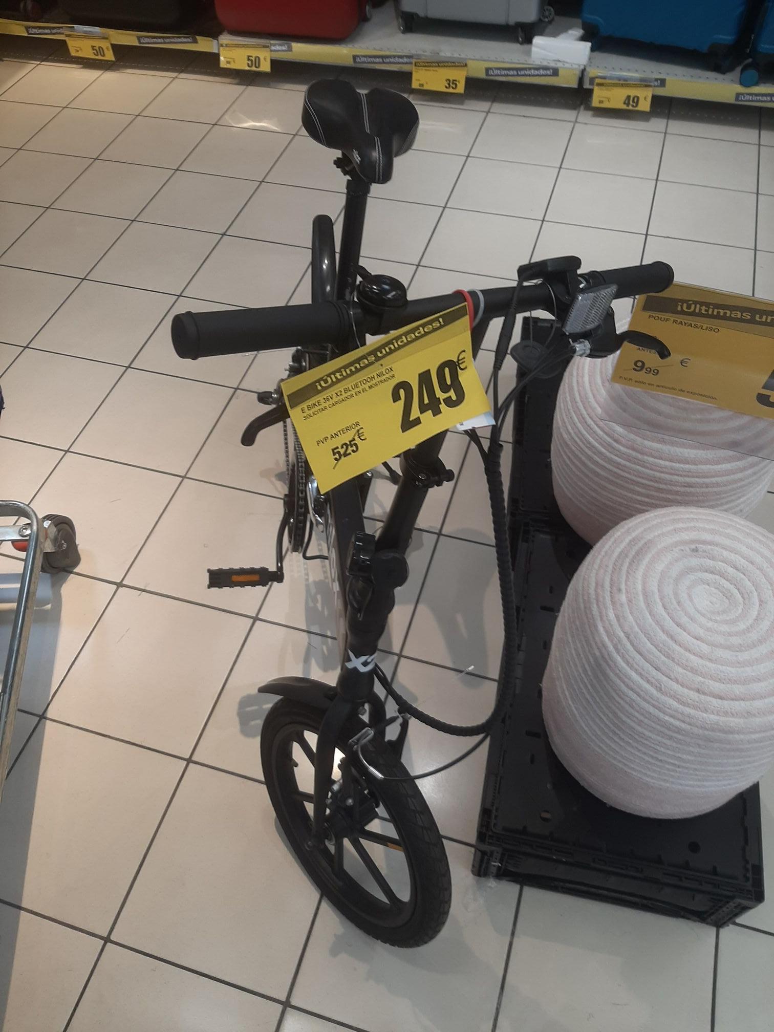 E bike 36v X2 (carrefour Alcala de Henares)