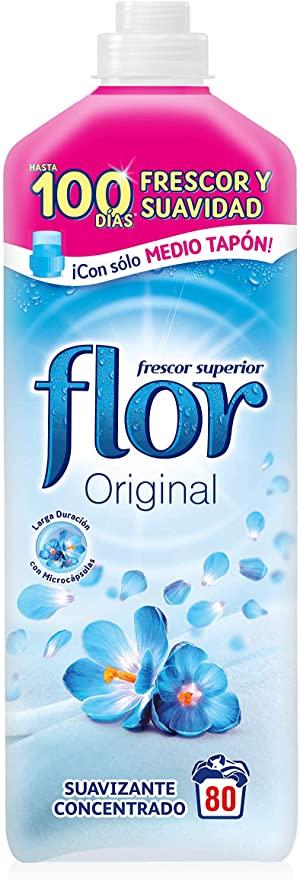 Flor Original - Suavizante para la ropa concentrado - 80 lavados