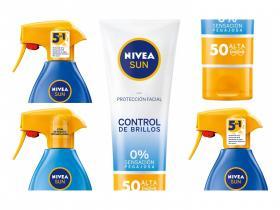NIVEA SUN cremas solares ,con FP30 ,50, 50+ .