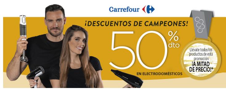 PRODUCTOS MOULINEX Y ROWENTA 50% (COMPRAS SUPERIORES A 50 €)