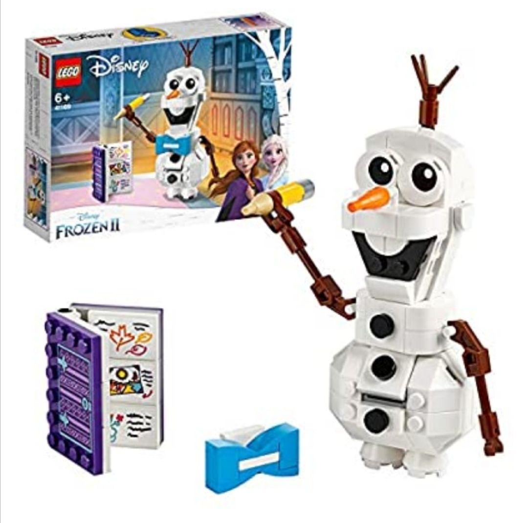 LEGO Disney Princess - Olaf, Juguete de Construcción del Muñeco de nieve de Frozen 2