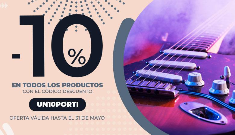 10% en instrumentos musicales outlet de la UME