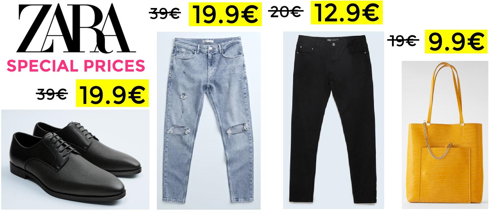 Hasta 50% de descuento en Zara Special Prices