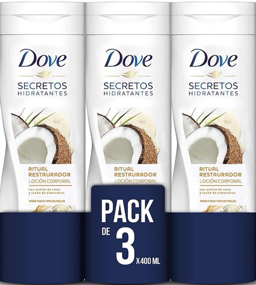 Recopilación - Dove Loción Corporal - 3 X 400 ml - Total: 1200 ml