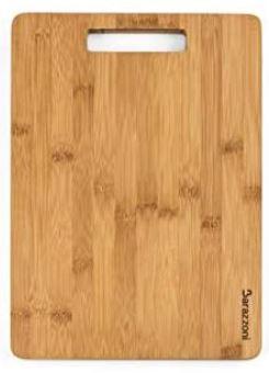 Tabla de Cortar de bambú, 25 x 15 cm