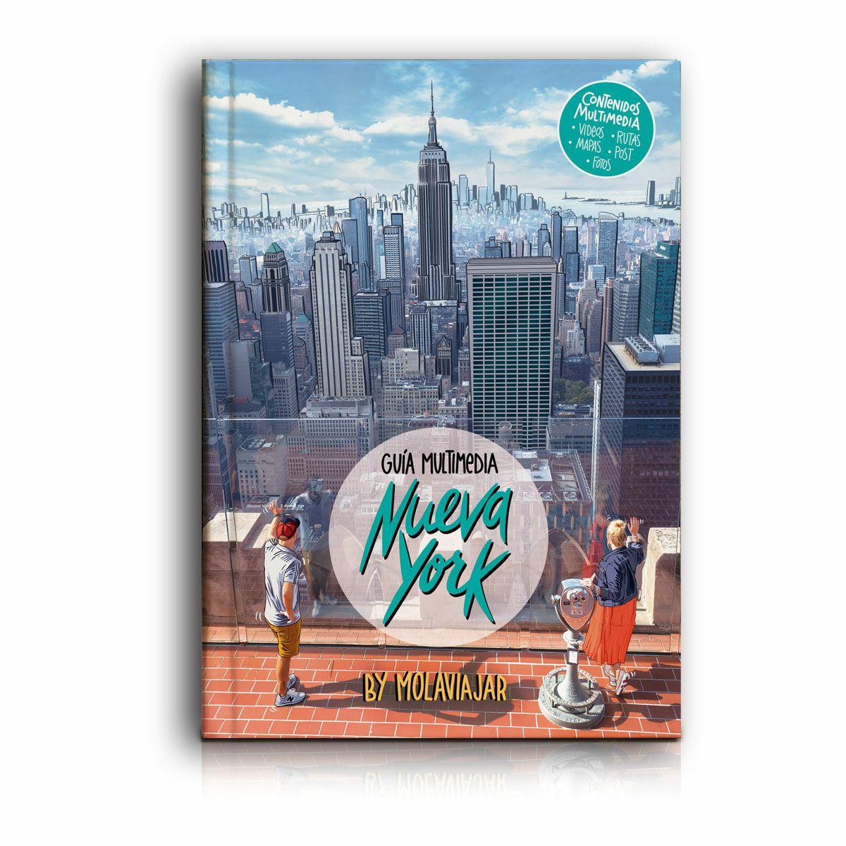 Libro Nueva York Molaviajar (Se paga solo envio)