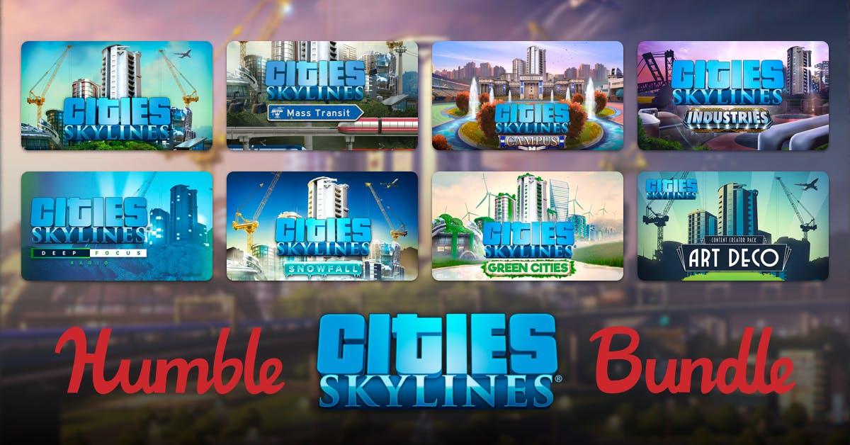 Nuevo Humblebundle de City Skylines desde 1€