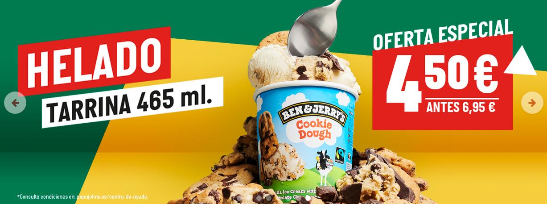 Tarrina de helado grande 465ml