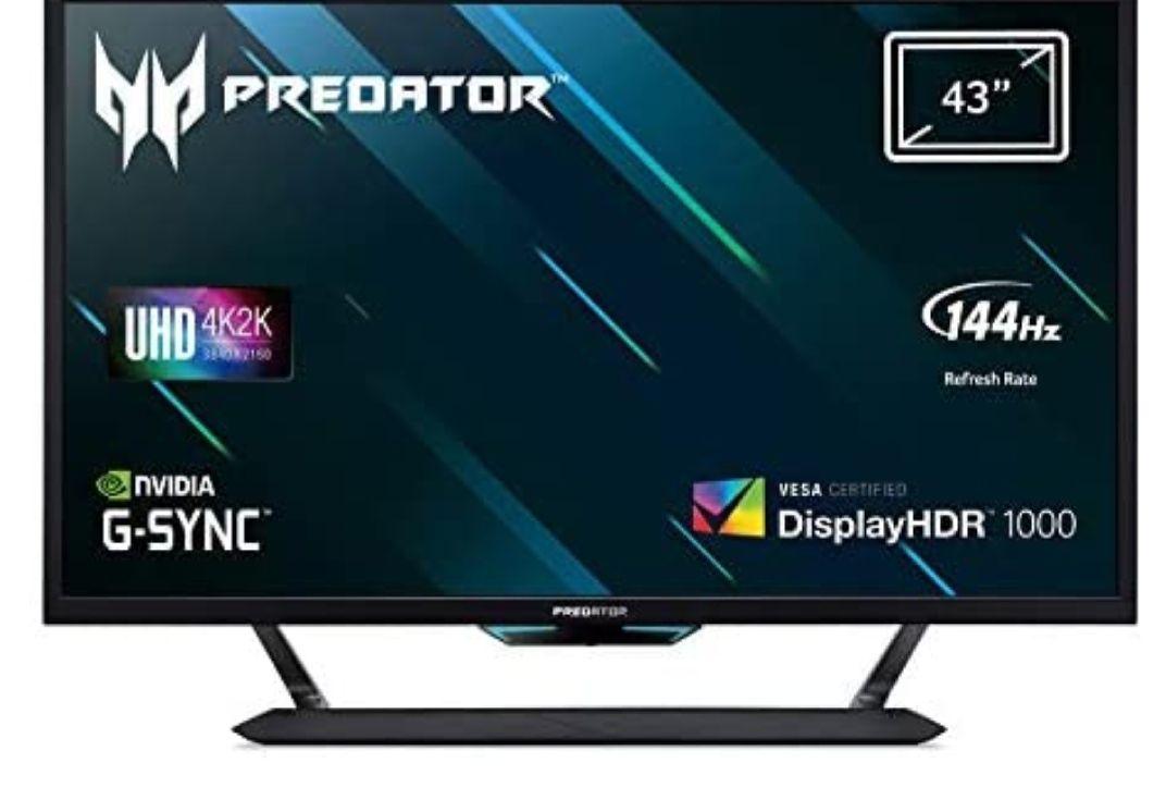 "Acer Predator CG437KP 43"" LED UltraHD 4K HDR 144Hz G-Sync"