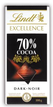 LINDT EXCELLENCE 70% 100g por 0,99€ en LIDL (A partir del 1/6)