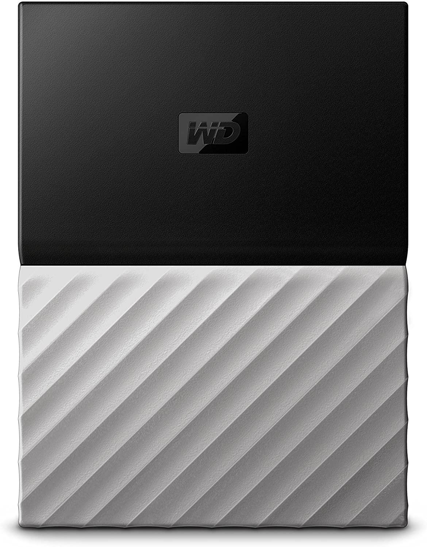 Western Digital My Passport - Disco Duro portátil 3TB y Software de Copia de Seguridad automática, Acabado metálico
