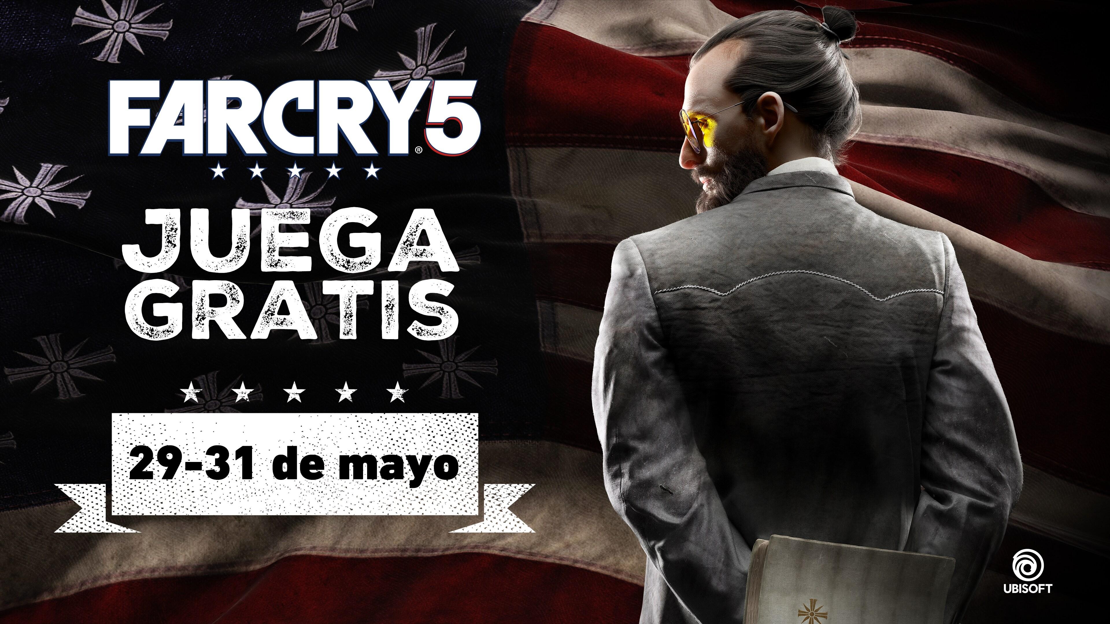Juega a Far Cry 5 GRATIS este fin de semana en PC