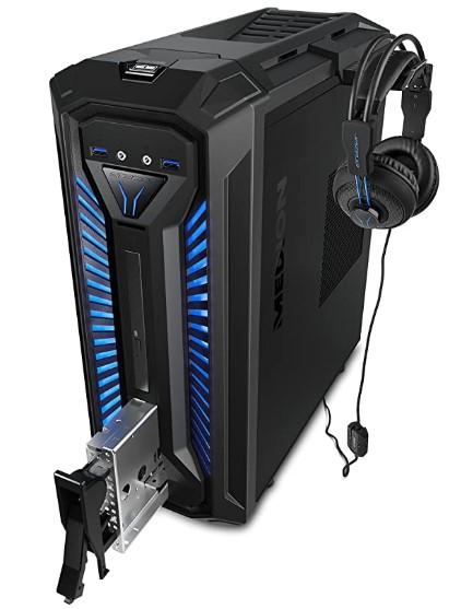 MEDION X30 RGB - Intel Core i5-9400, 8GB RAM, 1TB HDD + 256GB SSD, Nvidia GTX1050Ti-4GB, Windows 10