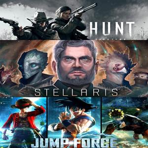 XBOX :: Juega Gratis Jump Force, Hunt Showdown y Stellaris