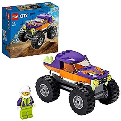 Lego Monster Truck Set de Construcción de un Camión con Espacio para Minifigura,