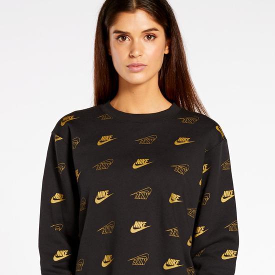 Sudadera para mujer Nike Gold