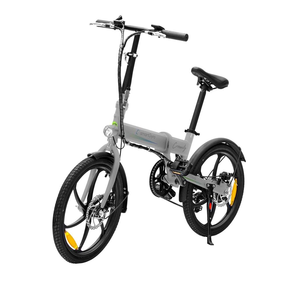 Bicicleta eléctrica SMARTGYRO CROSSCITY Silver
