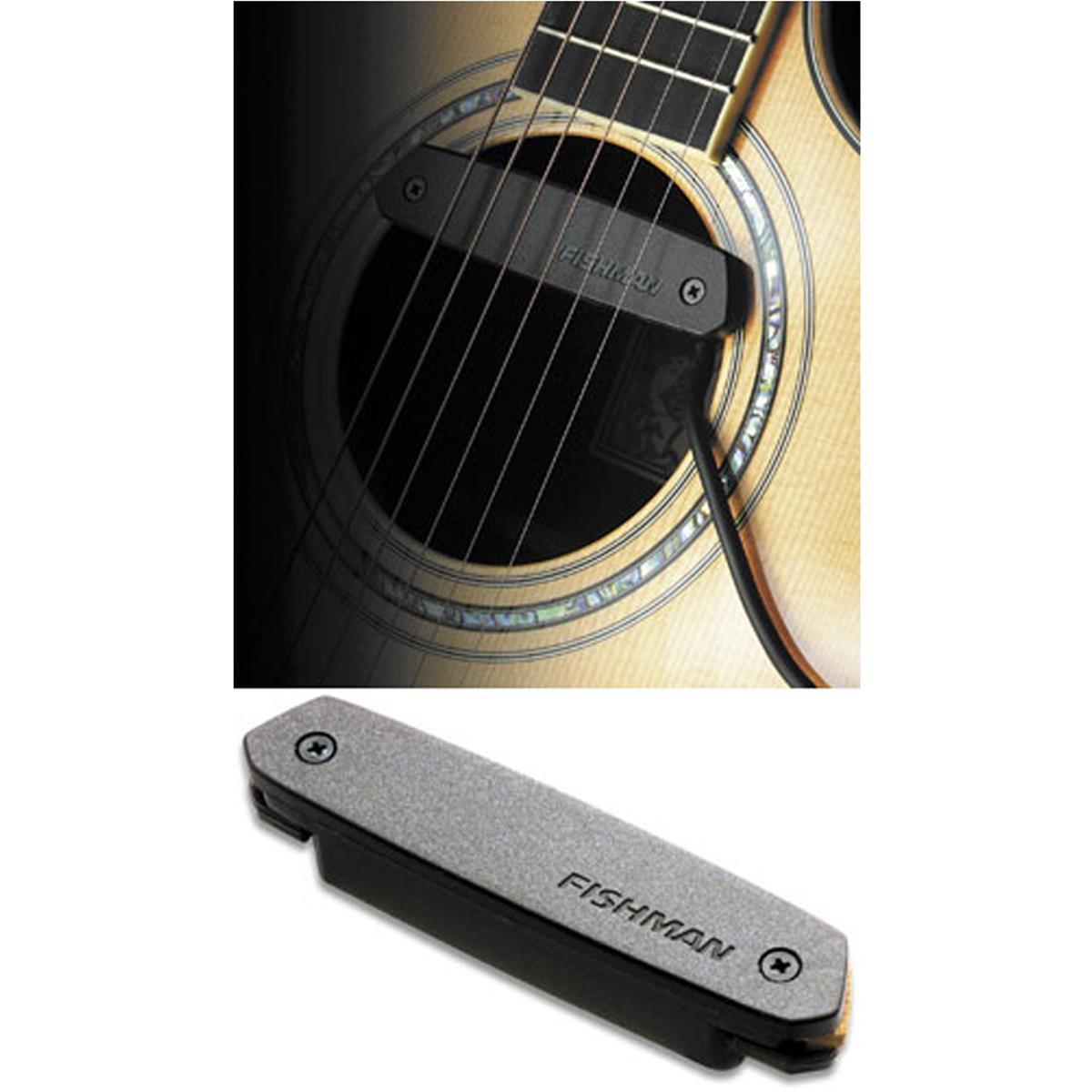 Pastilla para guitarra acústica Fishman Neo D Sigle Coil