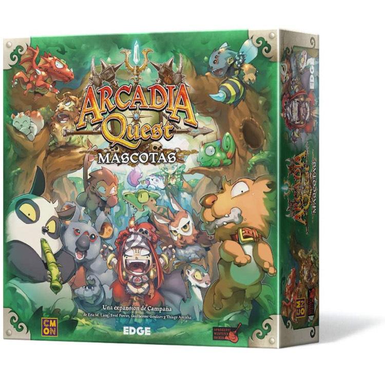 Arcadia Quest Mascotas - Expansión