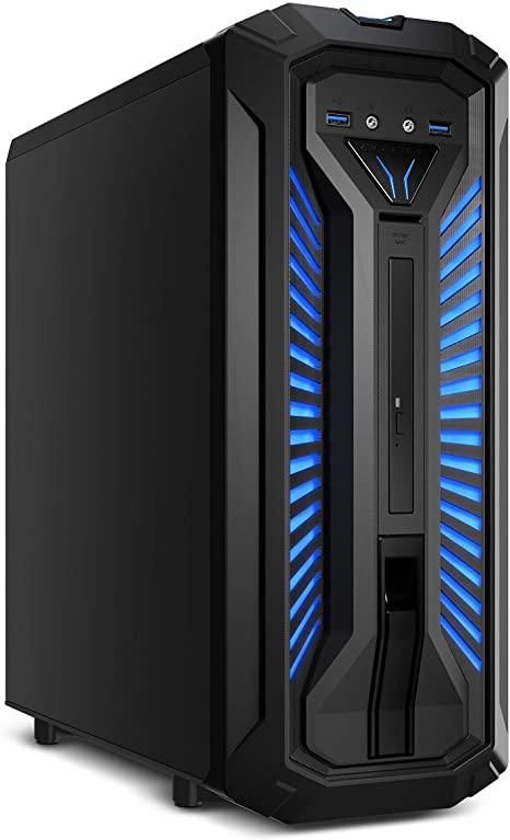 MEDION X30 PCC968 - Ordenador de sobremesa ( Intel Core i7-9700, 8GB RAM, 1TB HDD + 128GB SSD, Nvidia GeForce GTX 1660Ti-6GB, Windows 10)