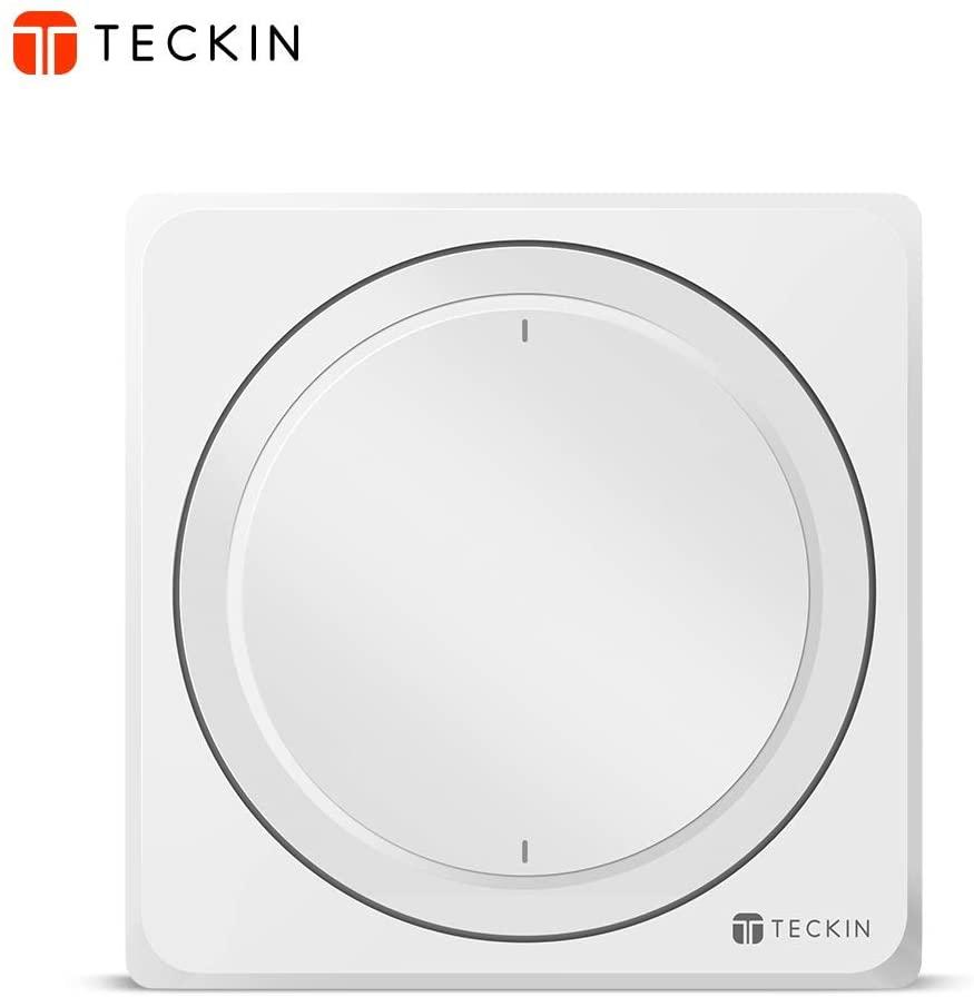 Interruptor Inteligente de pared Teckin [Compatible con Google Home y Alexa]