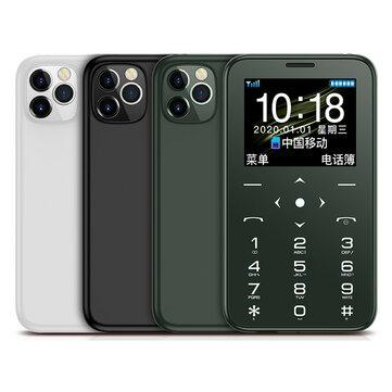 Minitelefono SOYES S7+ 400mAh 1.5 pulgadas Anti-perdida bluetooth MP3 Radio