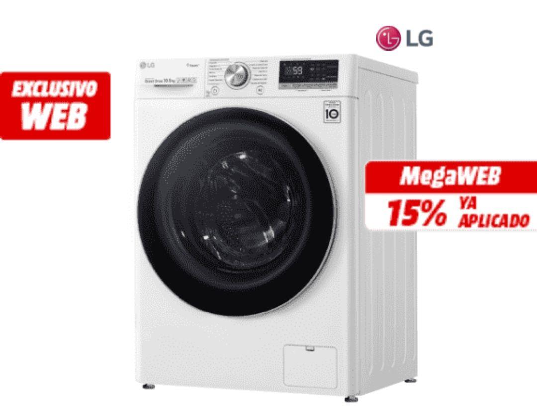 Lavadora Lg carga frontal + LG Smart Tv 24 de (REGALO)