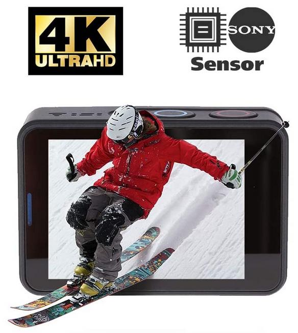 Rollei Actioncam 560 (4k 60 FPS) (REACO)