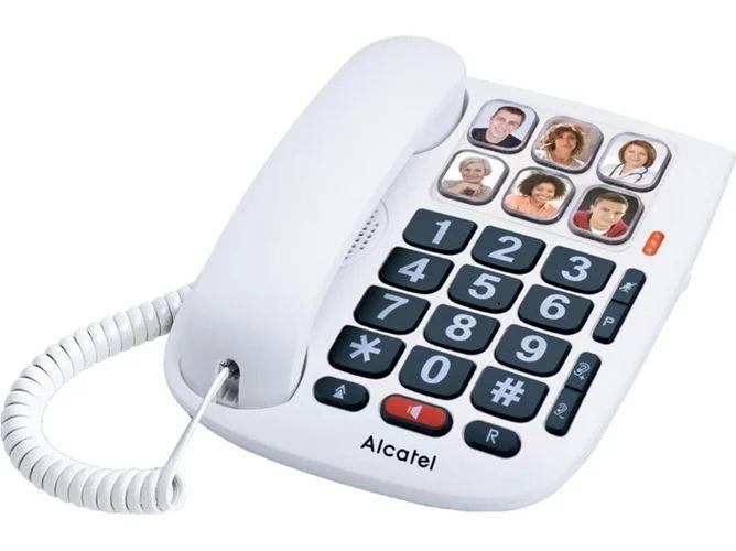 TELEFONO FIJO ALCATEL TMAX 10 BLANCO ORIGINAL