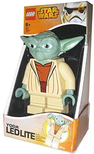 Linterna Ledlite con diseño de Yoda - LEGO STAR WARS