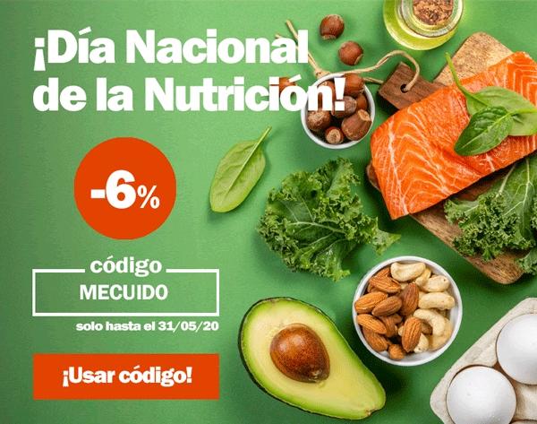 -6% extra Día Nacional de la Nutrición La Farmacia.es