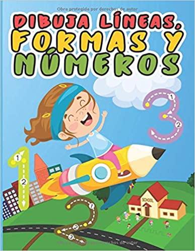 Dibuja líneas, formas y números