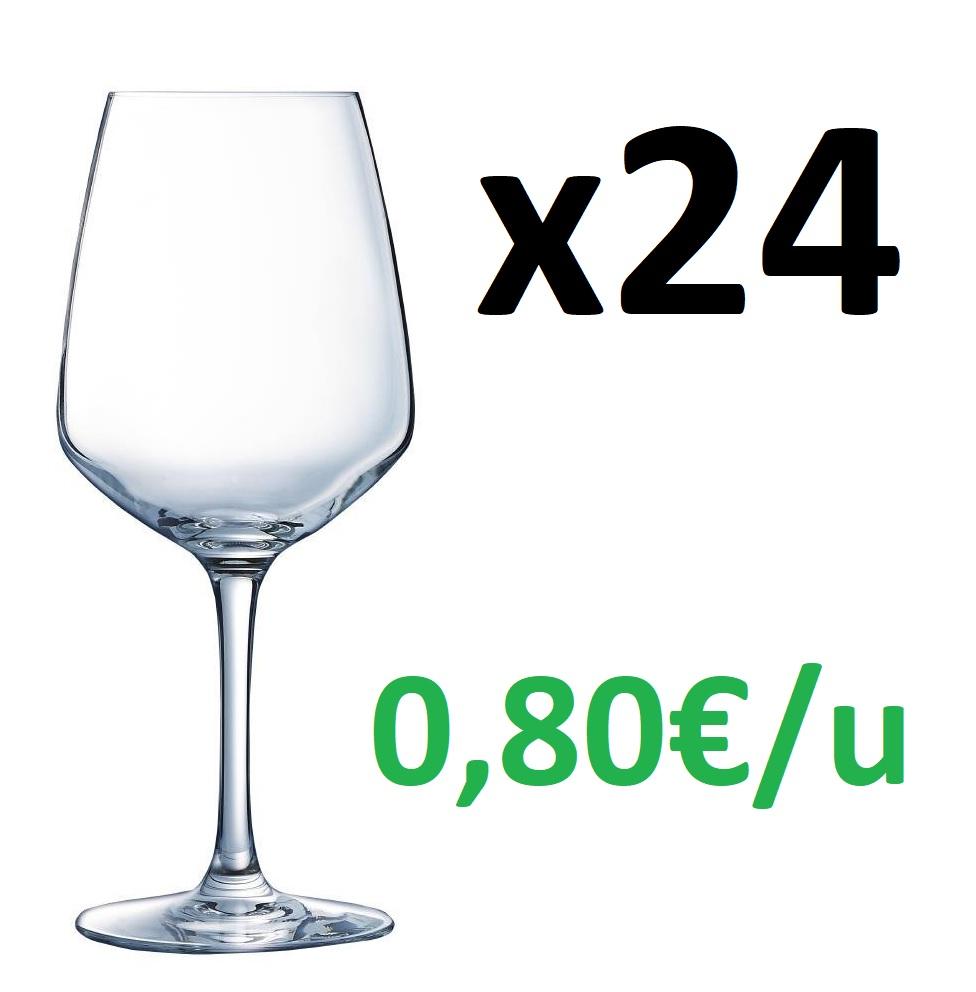 Arcoroc Juliette - 24 Copas de vino de 300ml (TSS)