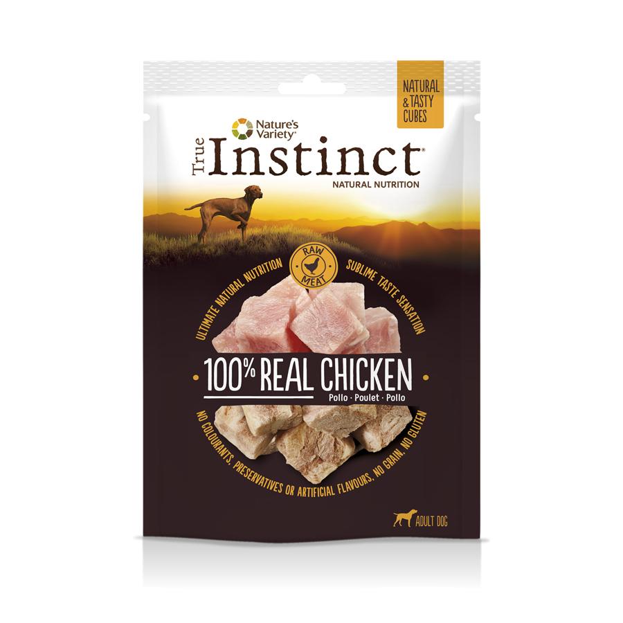 Regalo Snacks True Instict por la compra de producto +1 euro