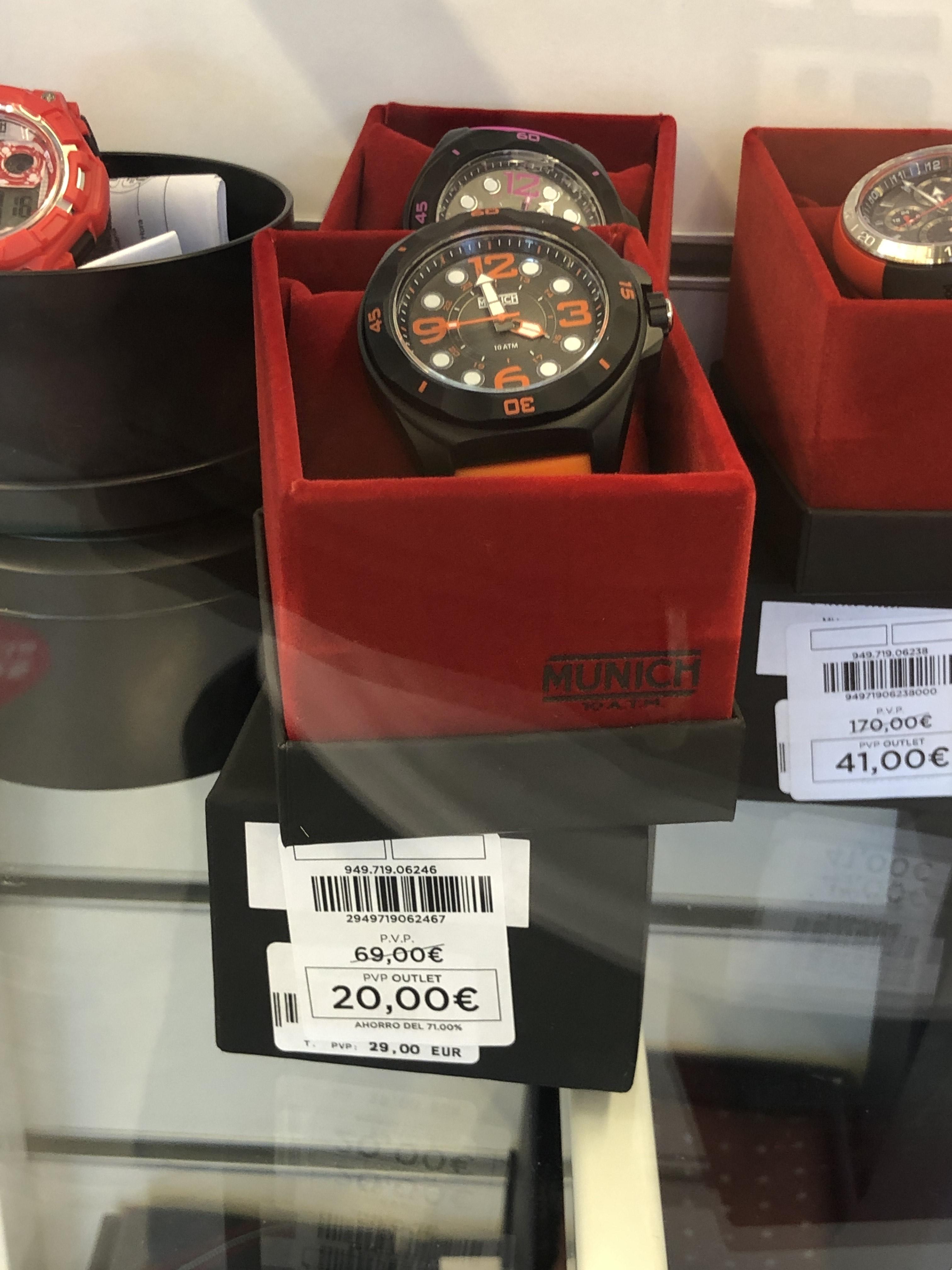 Relojes munich hasta el 71% - Oulet El Corteingles