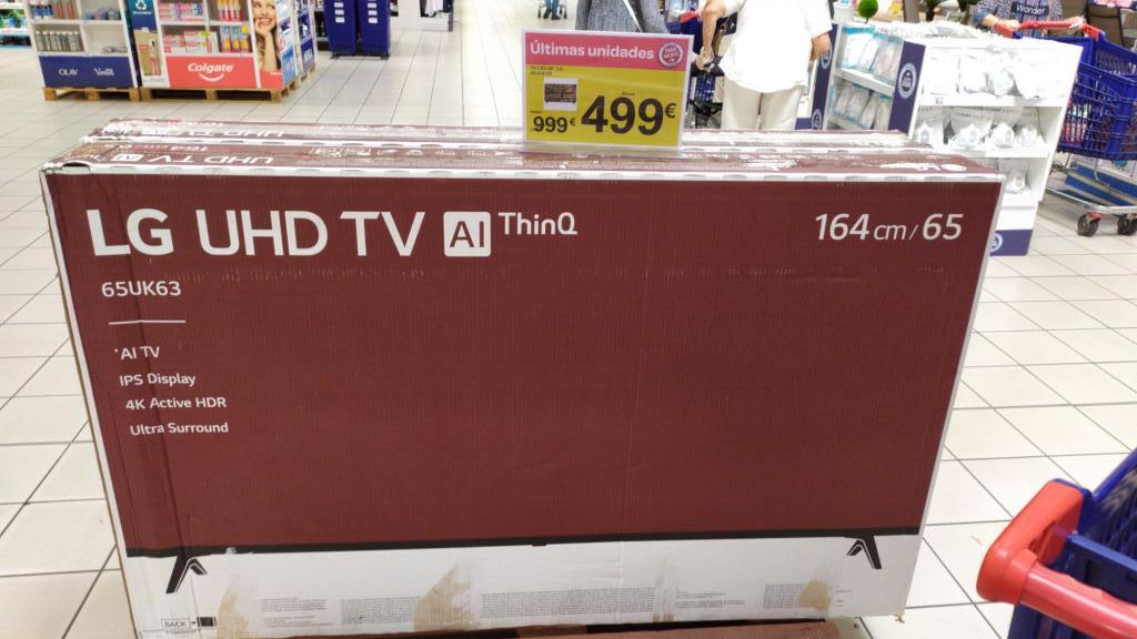 "TV LG 65 "" 4K IPS ALTHINQ - Carrefour"