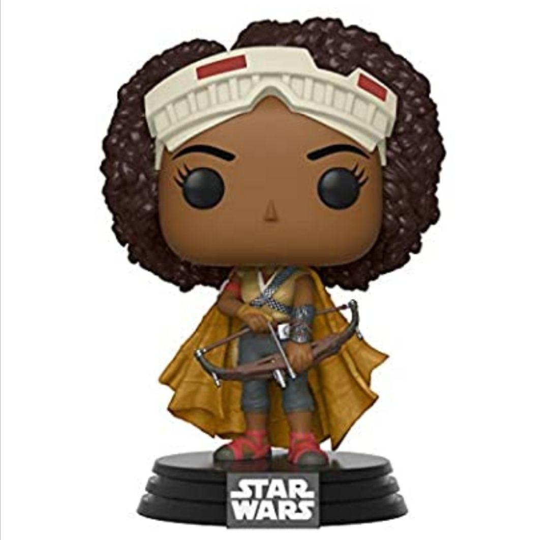 Funko- Pop Star Wars The Rise of Skywalker-Jannah Disney Figura coleccionable