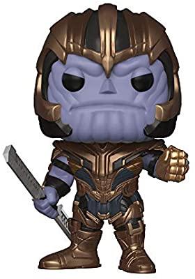 Funko- Pop Bobble: Avengers Endgame: Thanos Marvel Collectible Figure,