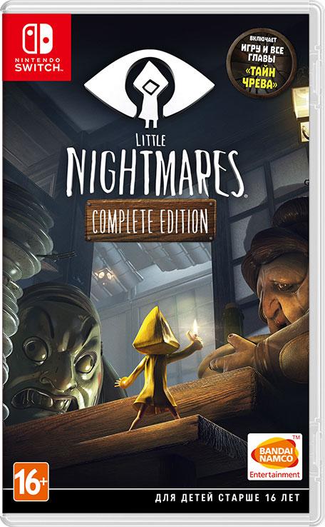 NINTENDO SWITCH: Little Nightmares Complete Edition (eShop de Rusia)