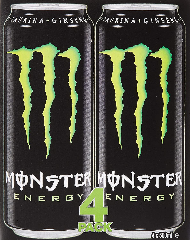 20 latas de 500ml de Monster a 0,79€ c/u