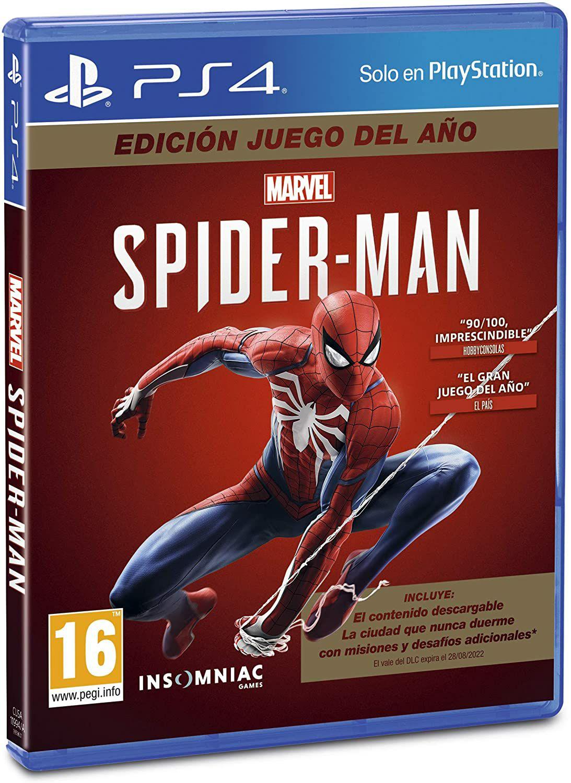 Spiderman JUEGO DEL AÑO PS4
