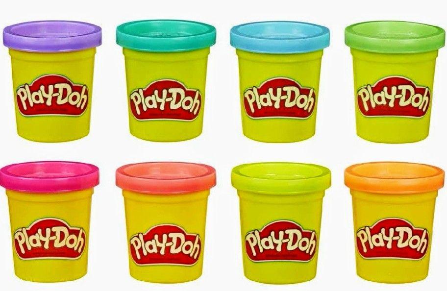 Play-Doh, colores surtidos, Pack 8 Botes. (precio al tramitar)