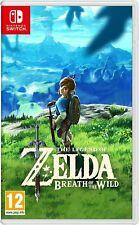The Legend of Zelda: Breath Of the Wild (cuentas seleccionadas)