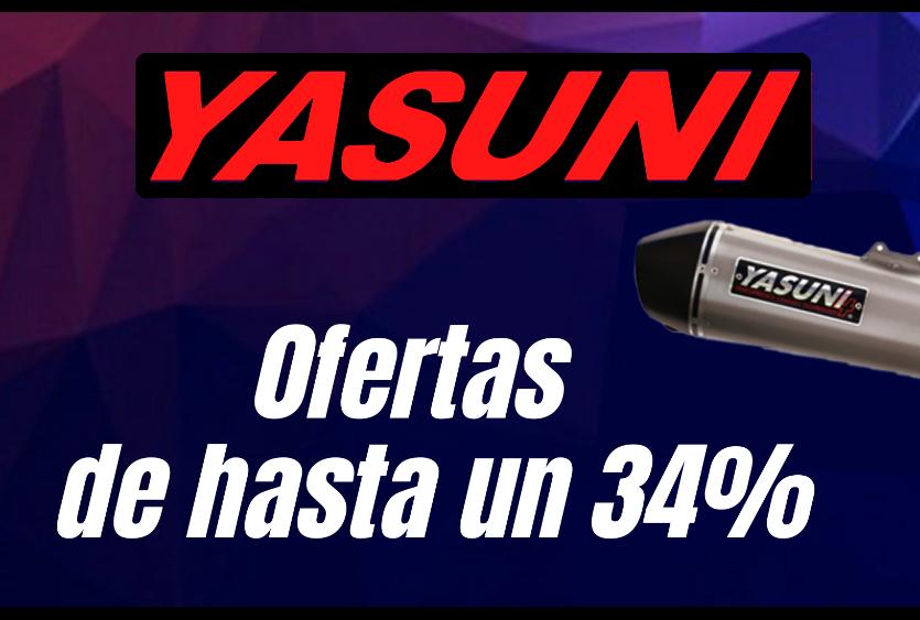Ofertas escape YASUNI //Yamaha Jog rr a 59,99€//