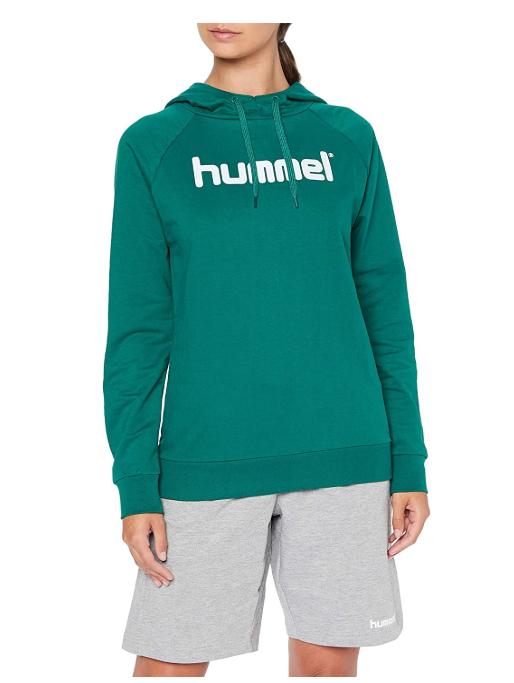 TALLA XS - Hummel Hmlgo Cotton Logo Hoodie - Sudadera con Capucha Mujer